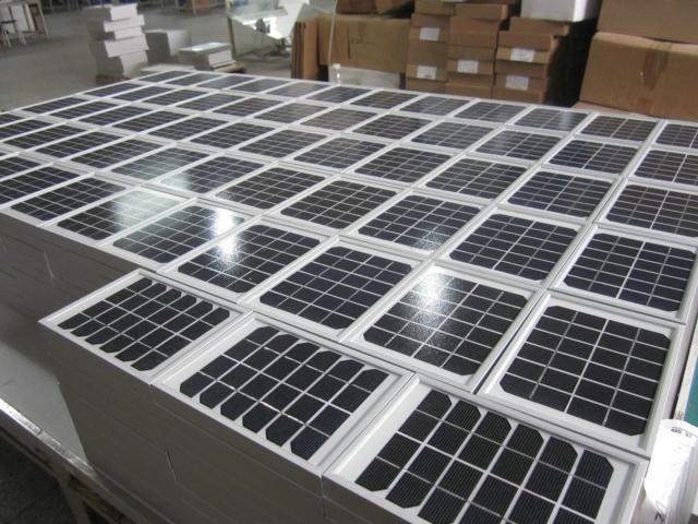 6v3w单晶 太阳能电池板 手机充电